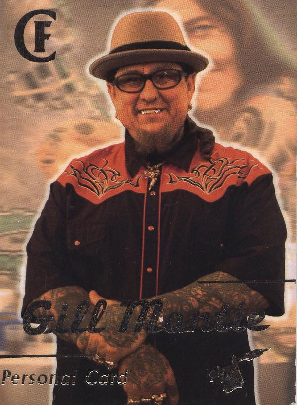 He was a very famous tattoo artist and has.